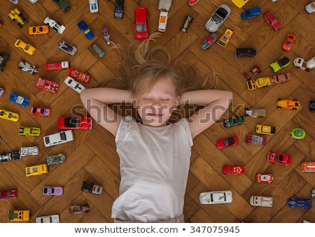 少年 少女 おもちゃ 車 子供 幸せ ストックフォト © Paha_L