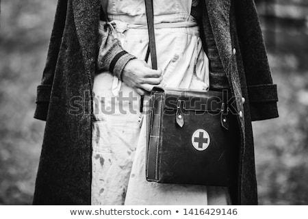 Dünya savaş Almanya asker kask Stok fotoğraf © cosma