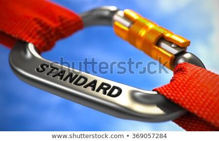 хром крюк текста прав оранжевый Веревки Сток-фото © tashatuvango