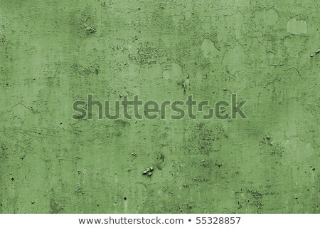 Grungy flaky green paint background Stock photo © alrisha