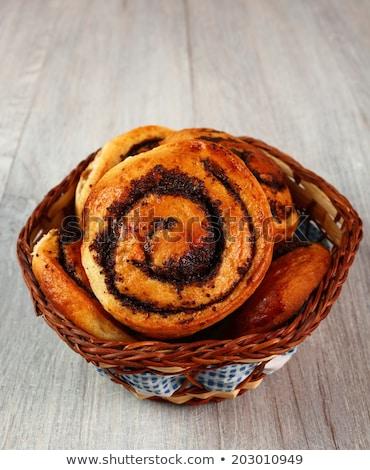 мак семени завтрак сахарной пудры продовольствие Сток-фото © Digifoodstock