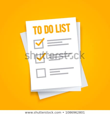 To do list text on green board Stock photo © fuzzbones0