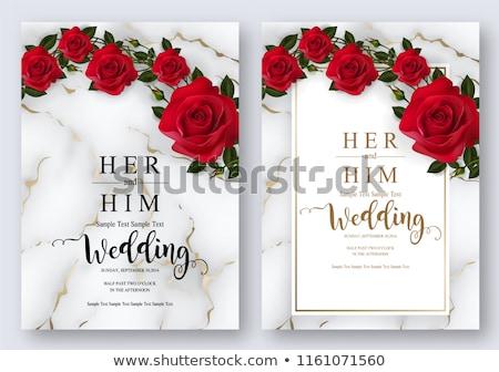 valentine card Stock photo © bendzhik