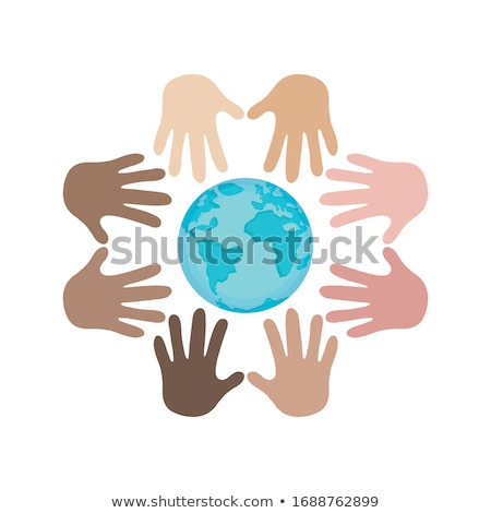 Earth in different colours Stock photo © bluering