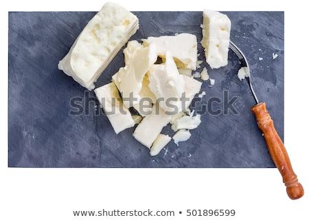 Vork stukken witte top beneden Stockfoto © ozgur