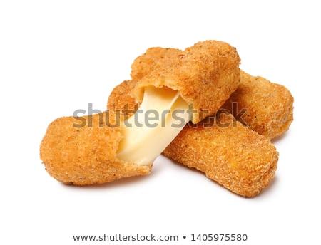 Peynir şeritler lezzetli Stok fotoğraf © Digifoodstock