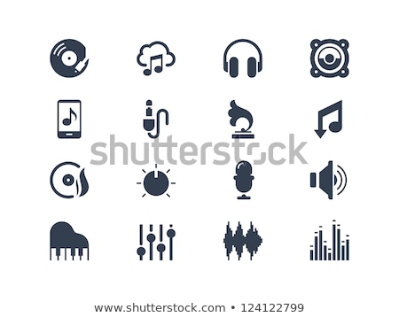 Icon design with gramophone Stock photo © bluering
