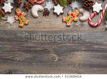 Рождества рождество Cookies старые темно Сток-фото © Yatsenko