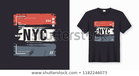 Brooklyn t-shirt graphics Stock photo © Andrei_