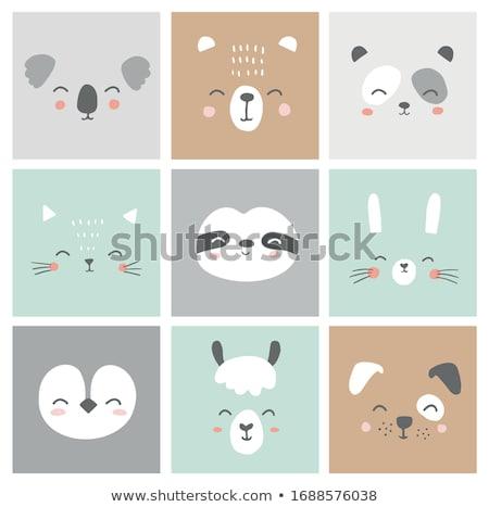 Vector doodle card Stock photo © Elensha