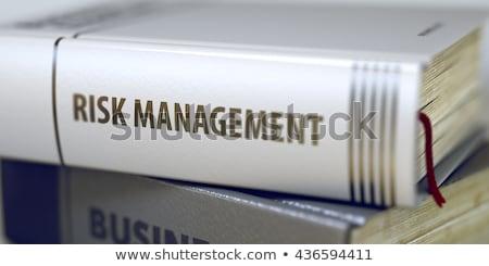 Ellenőrzés könyv cím 3D közelkép gerincoszlop Stock fotó © tashatuvango