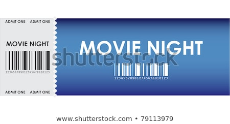 special movie ticket, vector design, eps10 Stock photo © place4design