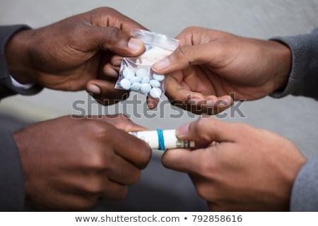 человек покупке наркотики обмена деньги Сток-фото © AndreyPopov
