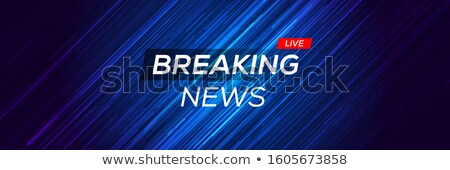 live news background with text space Stock photo © SArts
