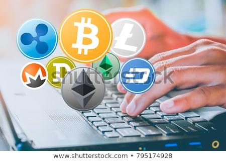 Litecoin cryptocurrency in hand Stock photo © stevanovicigor