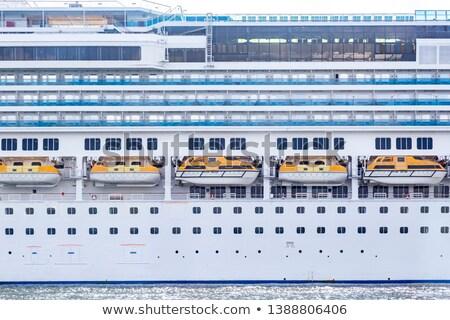 Nave primo piano cielo mare estate barca Foto d'archivio © tracer