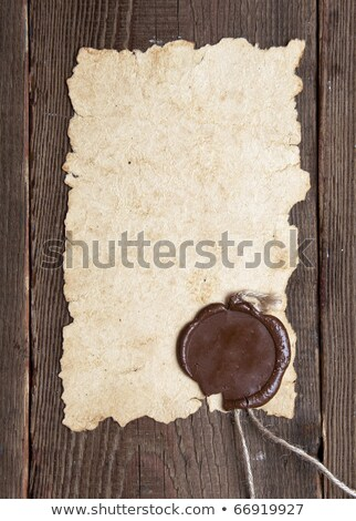 古い紙 · 原稿 · ブラウン · 木の質感 · 自然 · パターン - ストックフォト © inxti