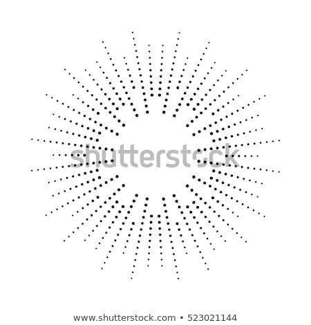 Vettore abstract nero star esplosione Foto d'archivio © freesoulproduction
