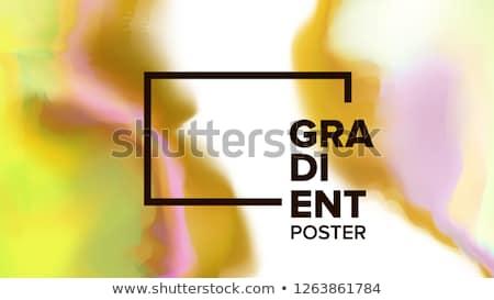 Gradient fluide vecteur modernes Photo stock © pikepicture