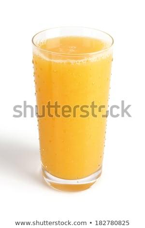 vidrio · orgánico · frescos · jugo · de · naranja · frutas · naranja - foto stock © dolgachov