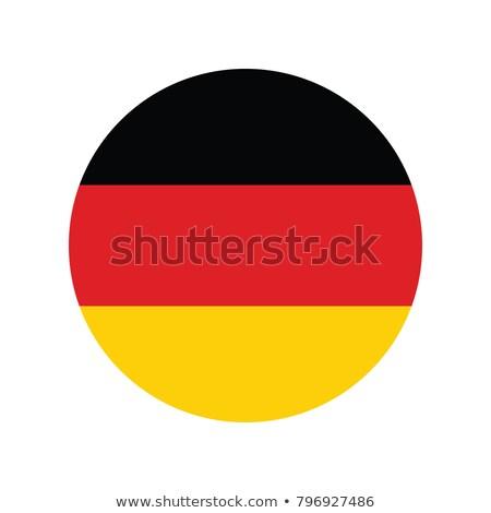 флаг Германия икона иллюстрация дизайна фон Сток-фото © colematt