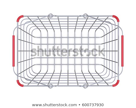 steel shopping basket sale sign 3d stock photo © djmilic