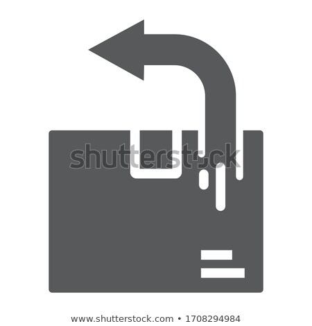 Delivery Line Web Glyph Icons Stock photo © Anna_leni