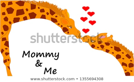 Happy Africa Day banner of animal print woman Stock photo © cienpies