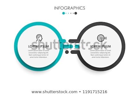 diseno · proceso · línea · arte · infografía · innovación - foto stock © kyryloff