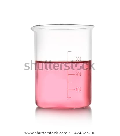 Beaker with pink liquid Stock photo © bluering