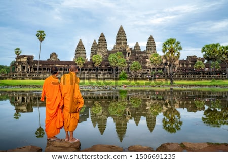 Landscape of Angkor, Cambodia Stock photo © bbbar