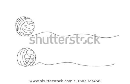 Ball Of Thread Icon Vector Outline Illustration Stock photo © pikepicture