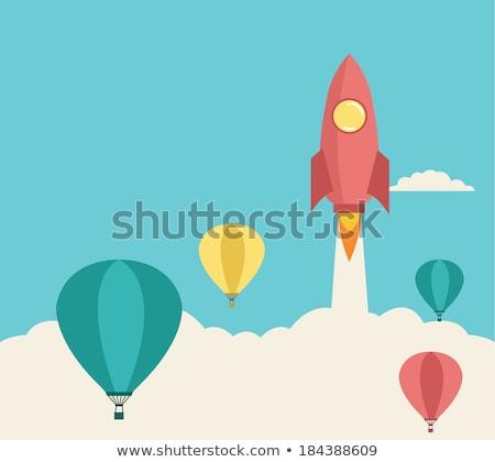 Hot air balloon vector concept metaphor Stock photo © RAStudio