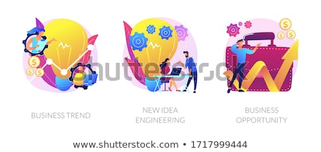 New idea engineering vector concept metaphor Stock photo © RAStudio