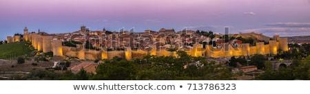 要塞 · スペイン · 建物 · アーキテクチャ · 塔 · 町 - ストックフォト © phbcz