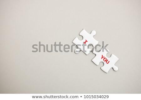 liefde · alle · stukken · samen · groot - stockfoto © hermione
