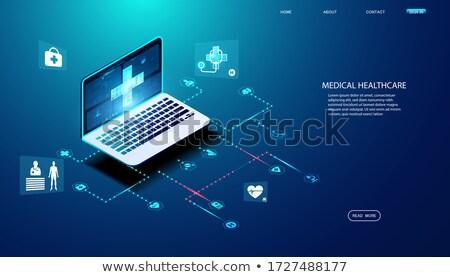 Edad tecnología de la información tecnología red web comunicación Foto stock © photography33