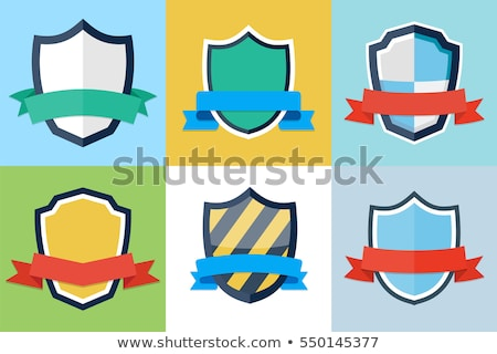 shield with a ribbon Stock photo © brux