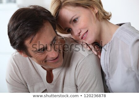 A woman fixing her smiling companion with a devoted look. Stock photo © photography33