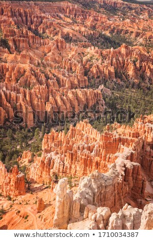 Details of a Badlands escarpment Stock photo © wildnerdpix