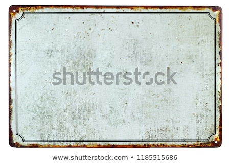 Old Sign Stock photo © Stocksnapper