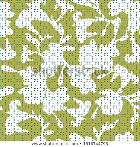 soyut · yeşil · yeşillik · parlak · bahar · dizayn - stok fotoğraf © isveta