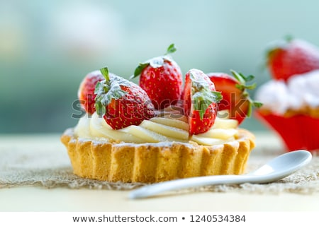 strawberry pastry Stock photo © M-studio