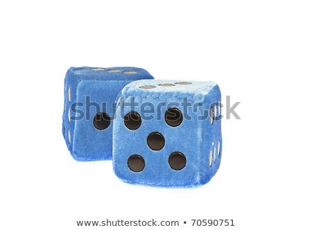 Blue Fuzzy Dice Stock photo © TeamC