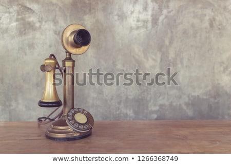 antique telephone Stock photo © Zerbor