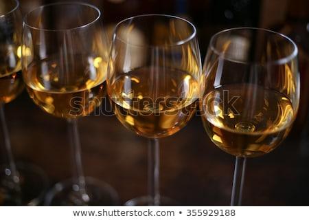 Stock photo: shampagne glasses