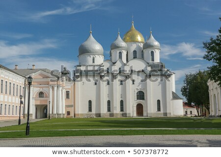 Sant Sophia Cathedral in Novgorod, Russia Stock photo © Alenmax
