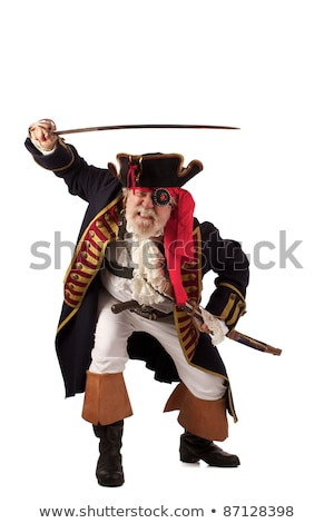 Angry pirate
