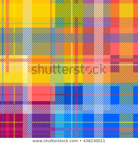 Bright Pink and White Checkers on Textured Fabric Background Stock photo © karenr