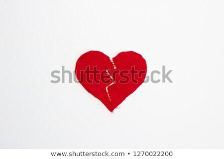 Сток-фото: Broken Heart Stitched Together